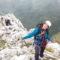 Curso de escalada de aristas y de ascensiones alpinas.