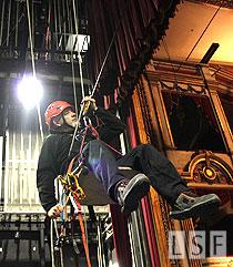Curso de técnicas verticales para trabajos en escenarios