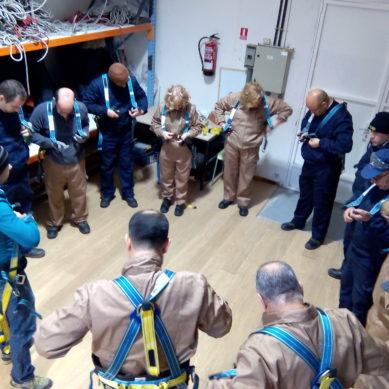 Módulo de Prevención y Seguridad en trabajos en altura:  IV Plan Empleo Comarcal.