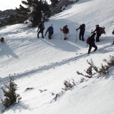 Cursos de Montañismo invernal y Nivología y avalanchas