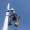 Procedimientos de trabajo y rescate en apoyos eléctricos: COMSA (Salamanca)