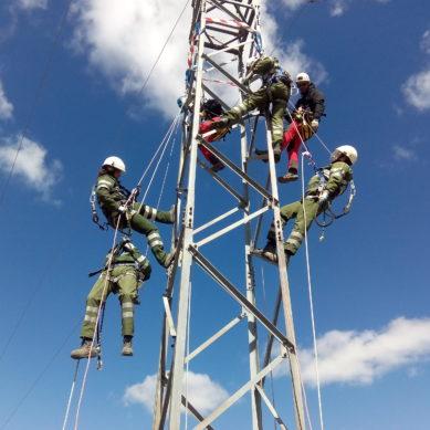 Reciclaje: Rescate de Trabajadores accidentados en apoyos eléctricos. Iberdrola Distribución
